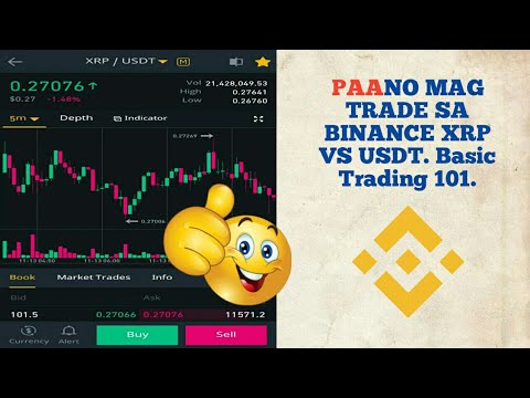 BINANCE XRP TRADING TAGALOG TUTORIAL 2019 MOBILE APP VERSION NO EDIT, coins.ph