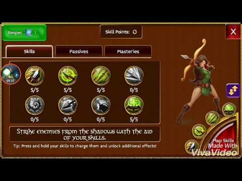 Arcane Legends Build For Rouge #2 (PvP/PvE) 61lv