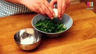 Ispanaklı Hellim Peynirli Omlet