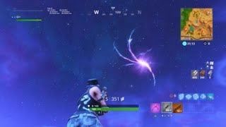 What happens shen you get struck by lighting in Fortnite?