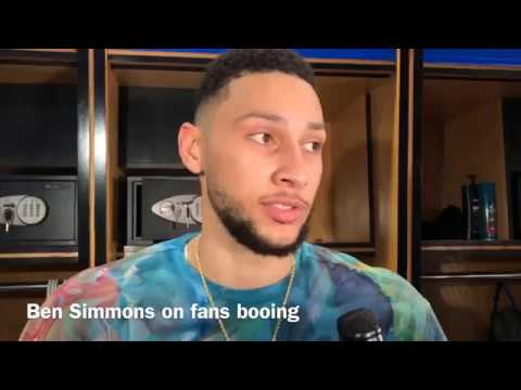 Ben Simmons: 'If You're Going to Boo, Then Stay on That Side