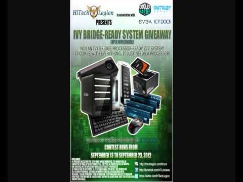 Competition:Intel Ivy Bridge Desktop - HiTechLegion - Everything Minus Processor/Monitor!