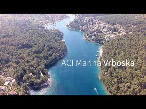 MARINA ACI VRBOSKA — CROATIA | DRONE FOOTAGE | Pointers Travel