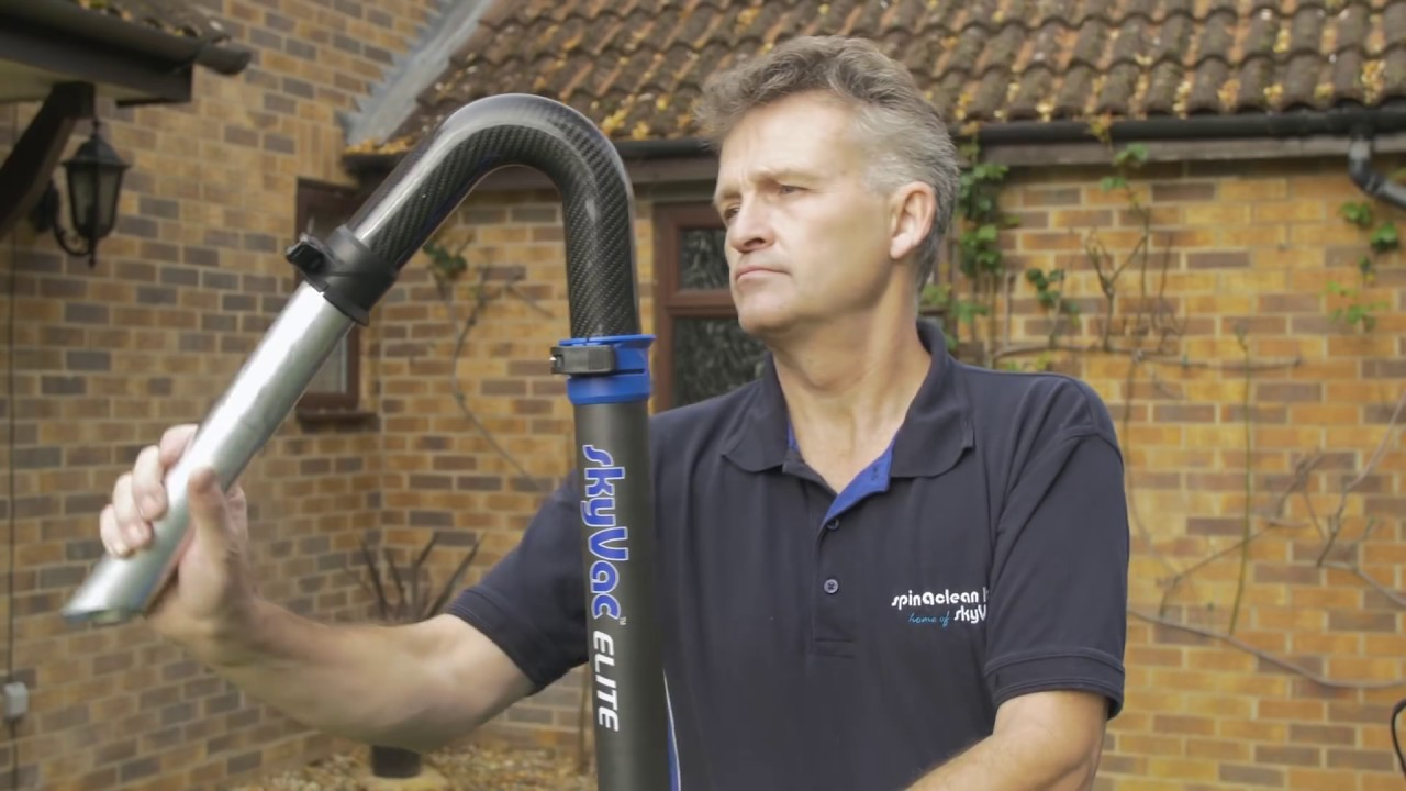 Elite Gutter Cleaning Poles - Lightest On The Market - YouTube