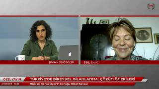 Türkiye'de bireysel silahlanma: Çözüm önerileri - Konuk: Sibel Savacı
