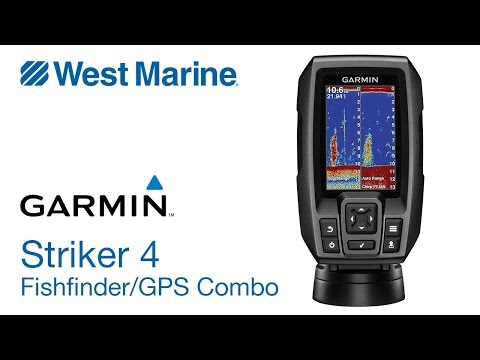 Garmin Striker 4 CHIRP Fishfinder with GPS - West Marine Quick Look