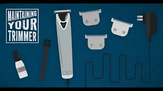 How to sharpen a hair trimmer