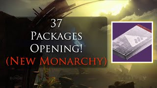 Destiny - Opening 37 Legendary (New Monarchy) Packages!