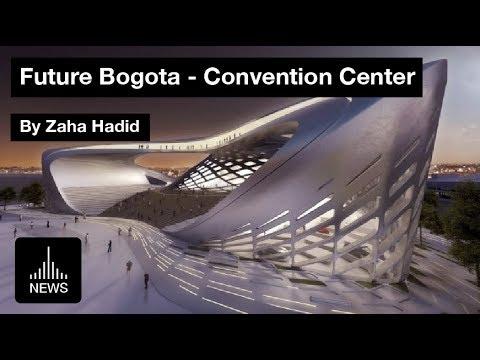 Future Bogota - Convention Center by Zaha Hadid