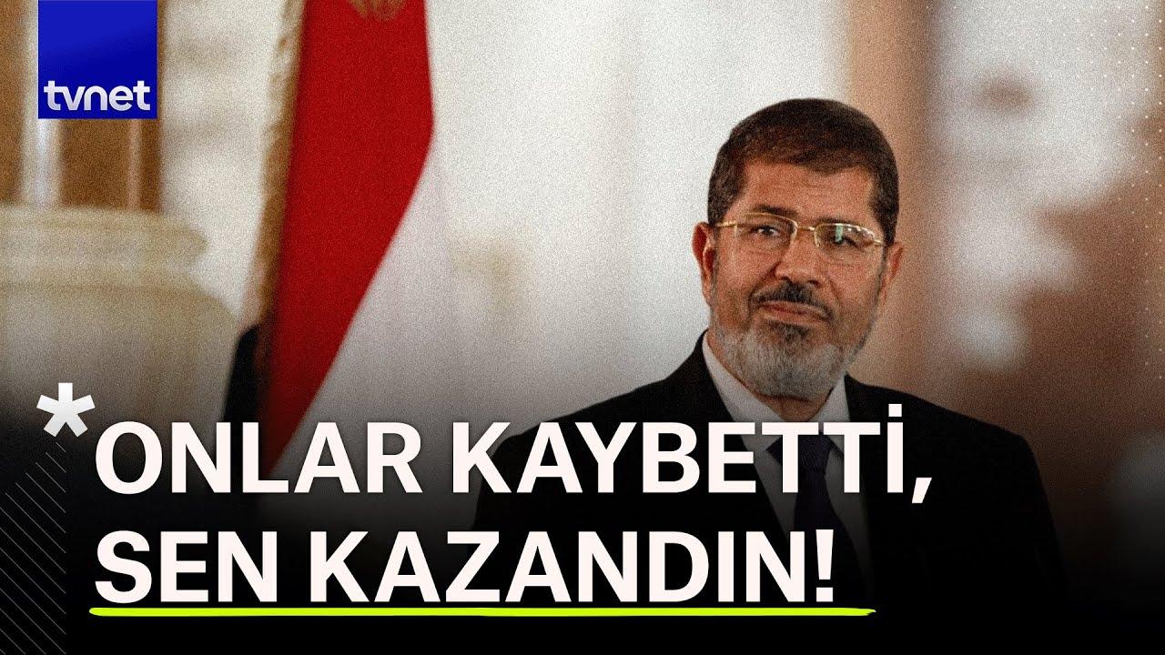 Mısır'ın Şehit Devlet Lideri Muhammed Mursi