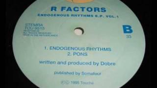 R Factors - Pons