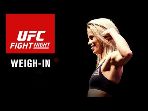 UFC Fight Night Sacramento: Official Weigh-in