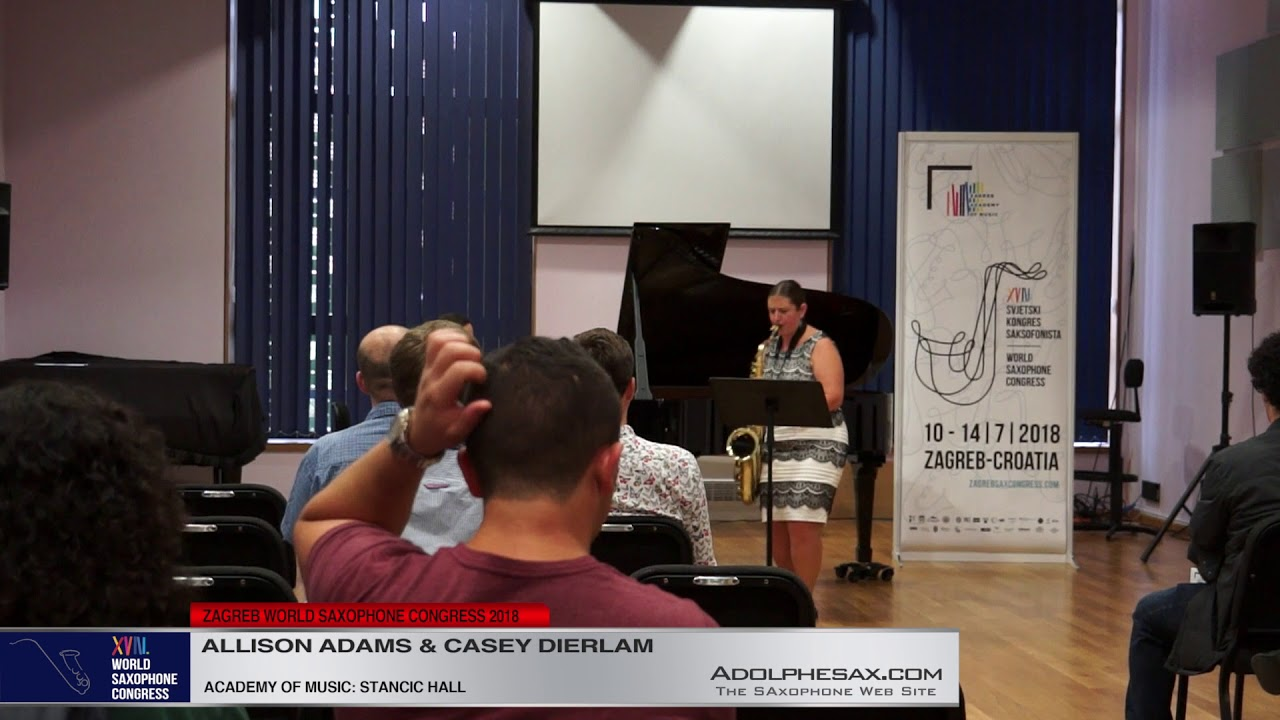 Through All Panics by Andrew Sigler   Allison Adams & Casey Dierlam   XVIII World Sax Congress 2018