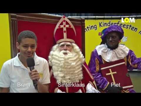 Interview en intocht met Sinterklaas in Mill - videoverslag