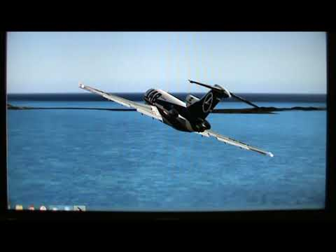 727-100 LAB Lloyd Aereo Boliviano Landing Short Runway, Aterrizaje