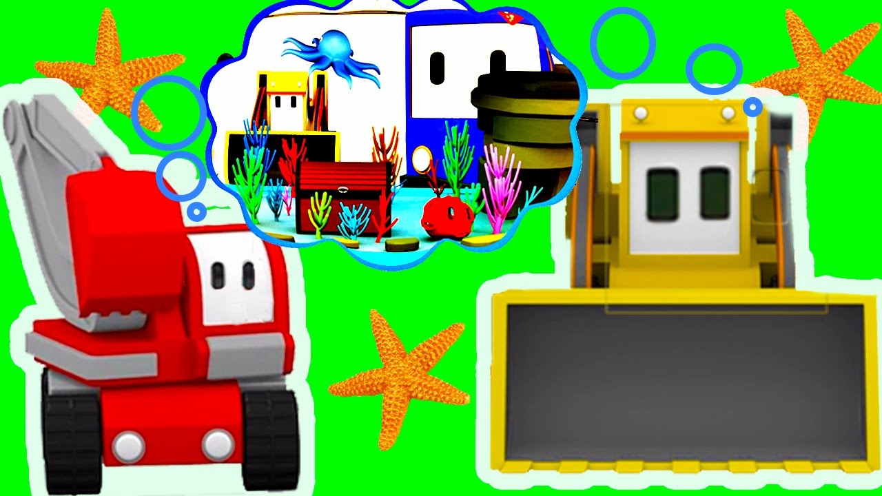 the-aquarium-learn-with-charlie-the-crane-billy-the-bulldozer-and-the-excavator-tiny-trucks
