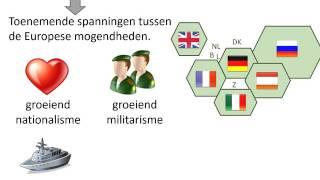 4. De oorzaken van de Eerste Wereldoorlog (HC Duitsland)