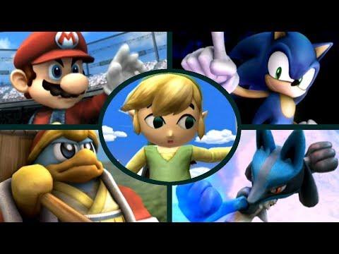 Super Smash Bros. Brawl - All Character Intros