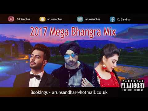 2017 MEGA BHANGRA MIX | PART 1 | BEST...