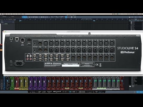 All the Connections | Presonus StudioLive 24 Series III