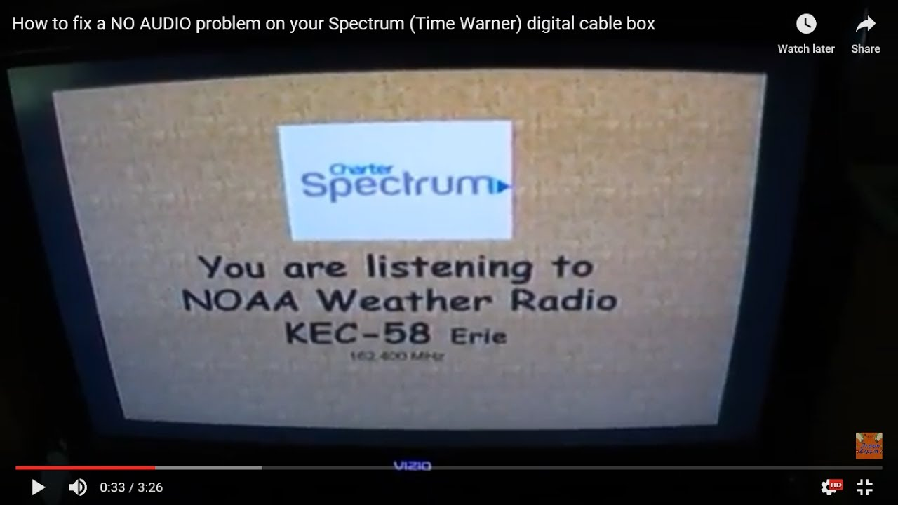 Time Warner Cable App Problem: How to fix a NO AUDIO problem on your Spectrum (Time Warner) digital rh:youtube.com,Design