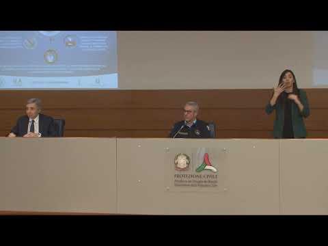 Conferenza stampa 6 aprile 2020 ore 18.00 – Coronavirus