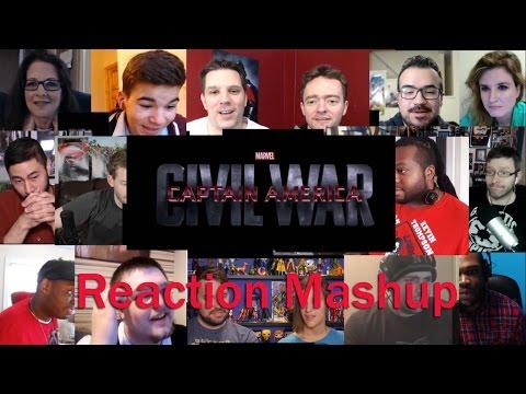 Marvel's Captain America  Civil War Trailer 2 REACTION MASHUP