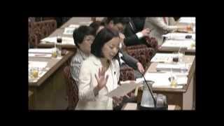 吉良よし子参院決算委-原発安全基準140519 吉良佳子 検索動画 28