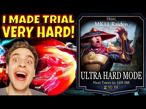 Mortal Kombat Mobile. INSANE Struggle In MK11 Raiden Trial. I Challenge You To Do What I Did