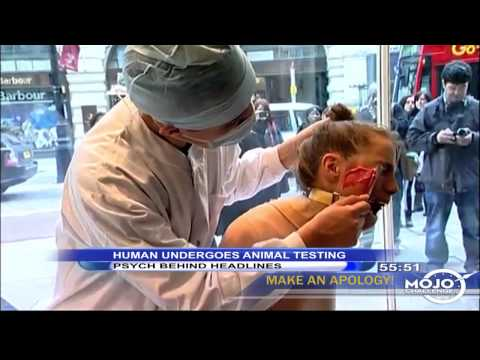 Human Undergoes Animal Testing