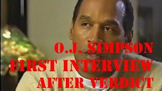 o j simpson first tv interview after verdict 1996 part 2