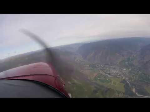 Flying across B.C in a 172 - Cranbrook to the Sunshine Coast