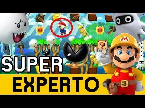 Houston, Tenemos un Problema - SUPER EXPERTO NO SKIP   Super Mario Maker - ZetaSSJ