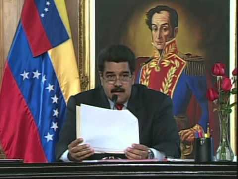"""Cadena completa de Nicolás Maduro con el """"Sacudón"""" y todos los cambios"""