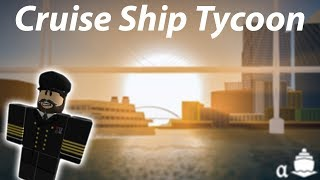 Build Your Own Ship! | Cruise Ship Tycoon Beta (Roblox) | Part 1