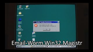 Email-Worm.Win32.Magistr (Thanks for 100,000 subscribers!!!)