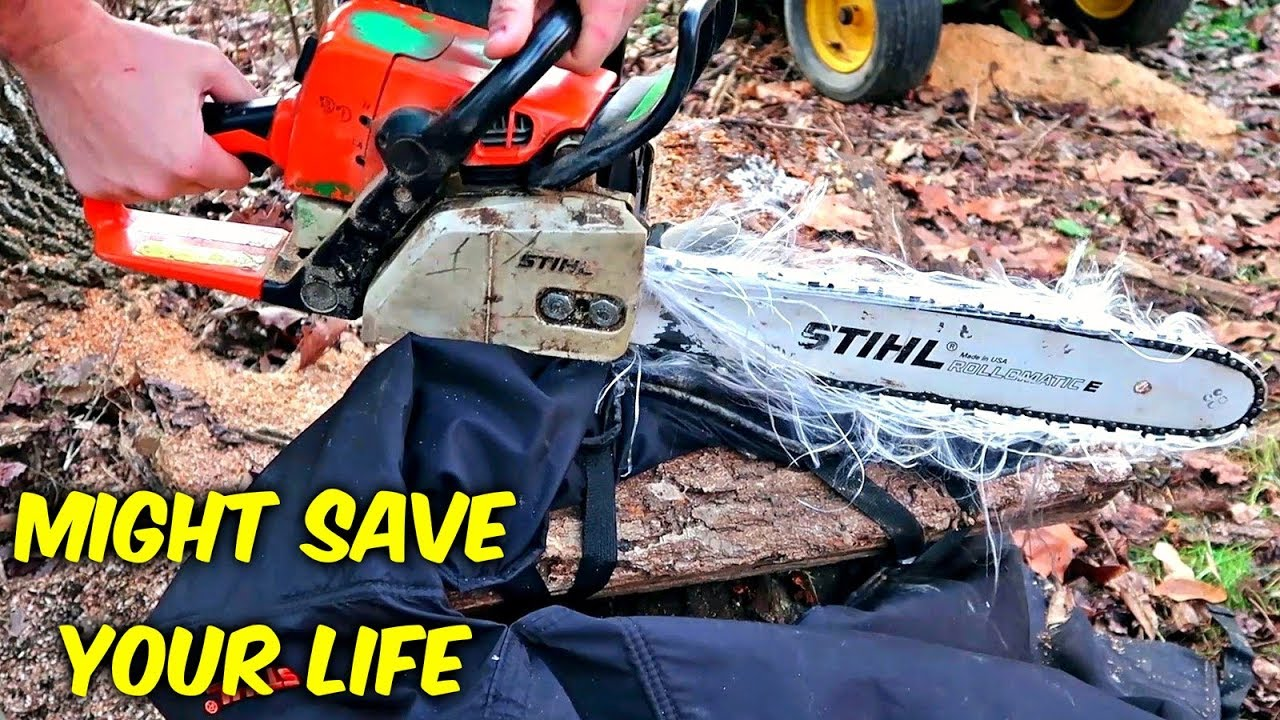 do-chainsaw-safety-chaps-actually-work-slow-mo