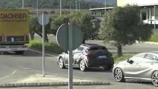 2015 Infiniti Q30 Spied testing in Spain
