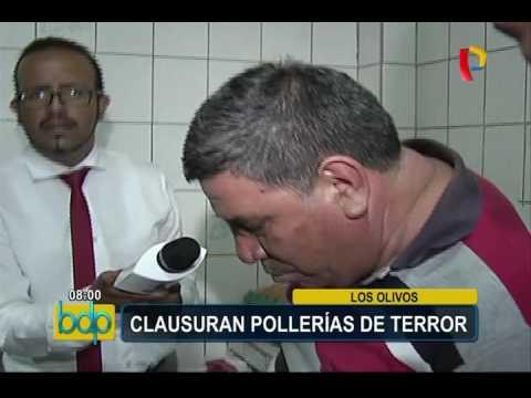 Los Olivos: clausuran pollerías por insalubres