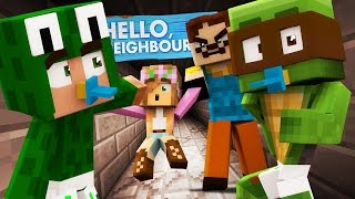 Minecraft Baby Hello Neighbour - THE NEIGHBOUR KIDNAPPED A GIRL!?