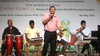 Ye Wadiyan Ye Fizayen timeless Rafi Number sung by Roshan Lal, Pratapgarh.
