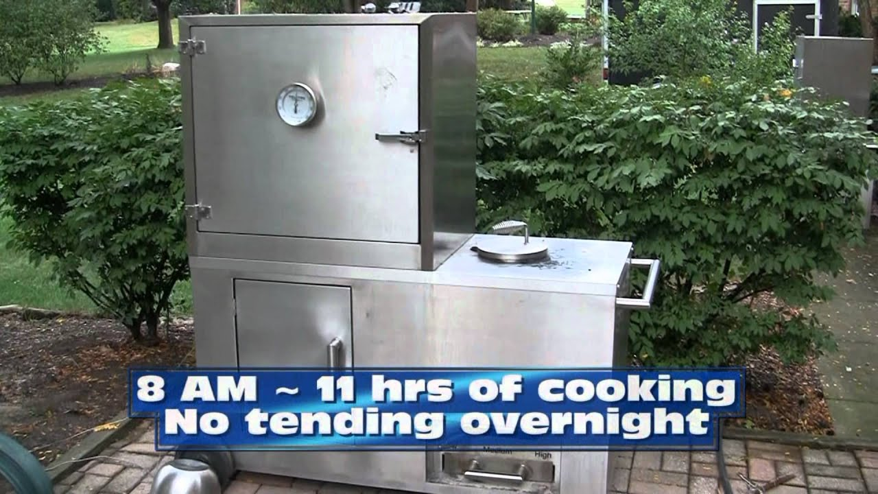 Cooking With The Breeze BBQ Smoker YouTube - Viking smoker