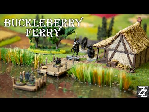 Buckle Berry Ferry! ~ Lord Of The Rings Scenery Tutorial