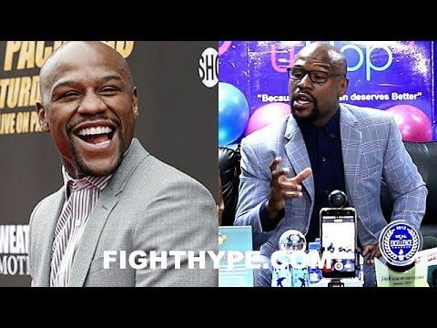 """MAYWEATHER REVEALS """"I'M THROUGH"""" WITH FIGHTING THANKS TO MULTIPLE NEW BUSINESS VENTURES; EXPLAINS"""