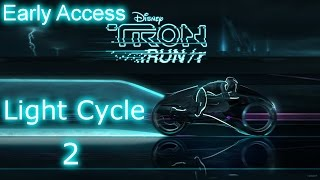 Tron RUN/r - Early Access Gameplay - Light Cycle Level 2