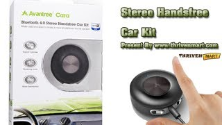 cara bluetooth 4 0 stereo handsfree car kit