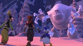 Kingdom Hearts 3: Snow Monster Boss Fight #9 (English)