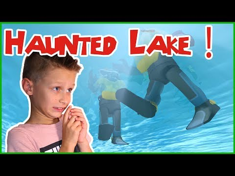 SCUBA DIVING AT A HAUNTED LAKE! ft. KarinaOMG