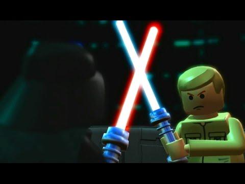 LEGO Star Wars: The Complete Saga Walkthrough Part 24 - Cloud City Trap (Episode V)