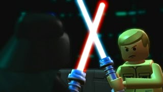 LEGO Star Wars: The Complete Saga Walkthrough Part 24 - Cloud City Trap (Episode V)